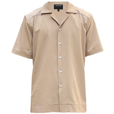 Khaki Stitch Shirt
