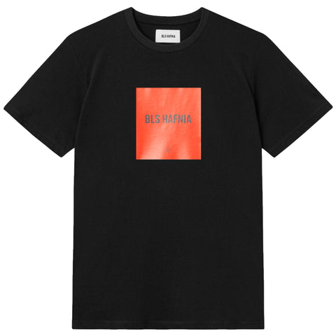 Type Red Box Logo T-shirt · Black