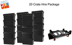 20 Crate Hire Package Room2Spare