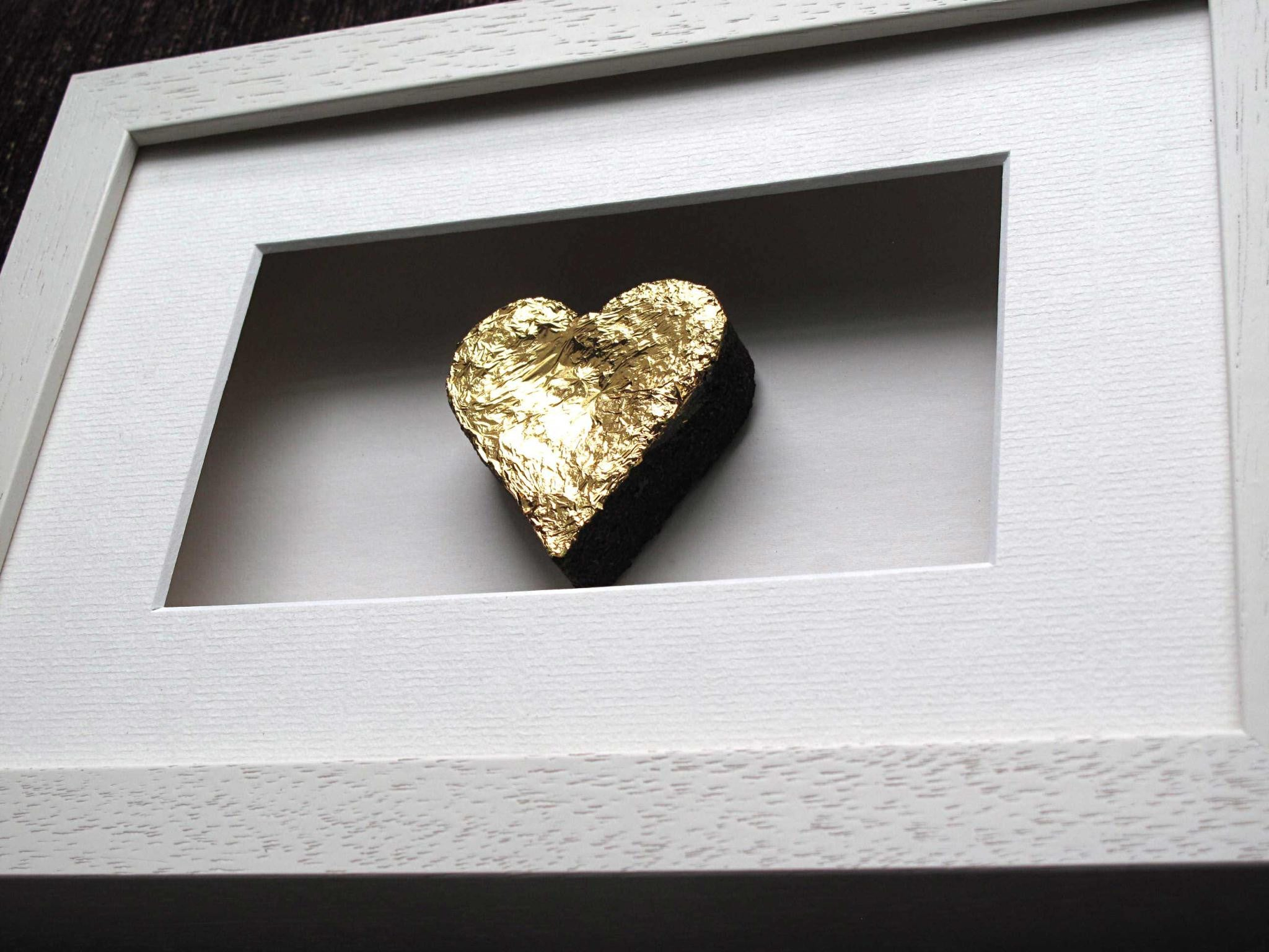 Heart of Gold - 24kt Gold Leaf
