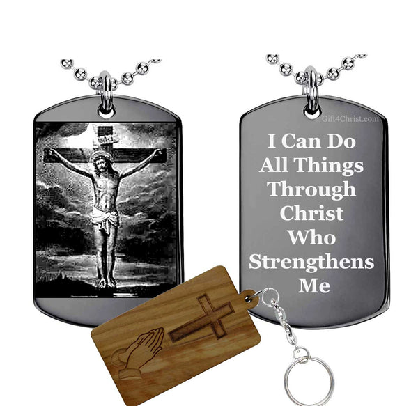 I Can Do all things Through Christ Philippians 4:13 Pendant