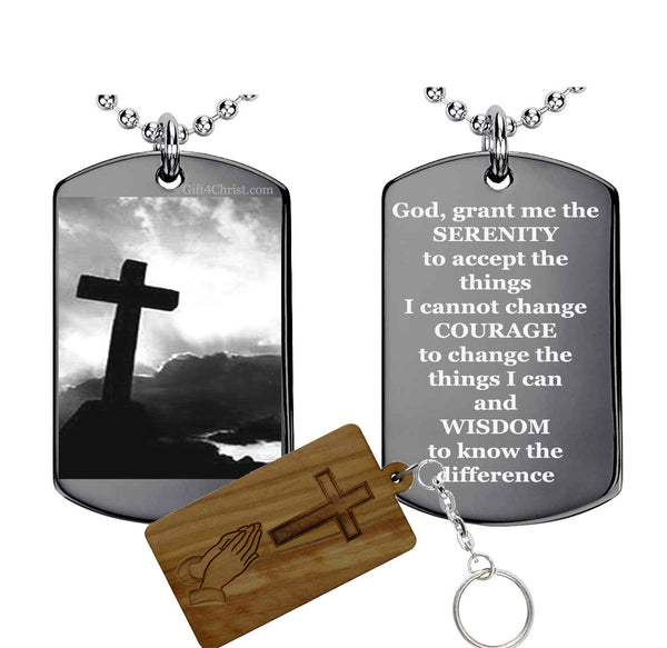 Serenity Prayer Pendant