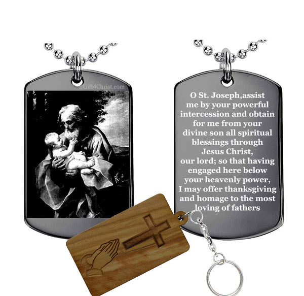 Pray To St. Joseph Pendant