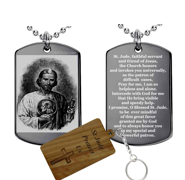 St Jude Prayer Pendant