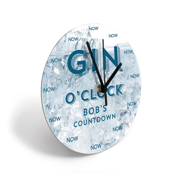 Clocks - Booze Clocks - Personalized With A Name Booze Clocks - Personalized with a Name