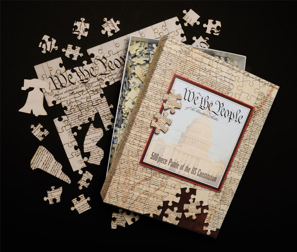 US Constitution 500 Piece Jigsaw Puzzle US Constitution 500 Piece Jigsaw Puzzle