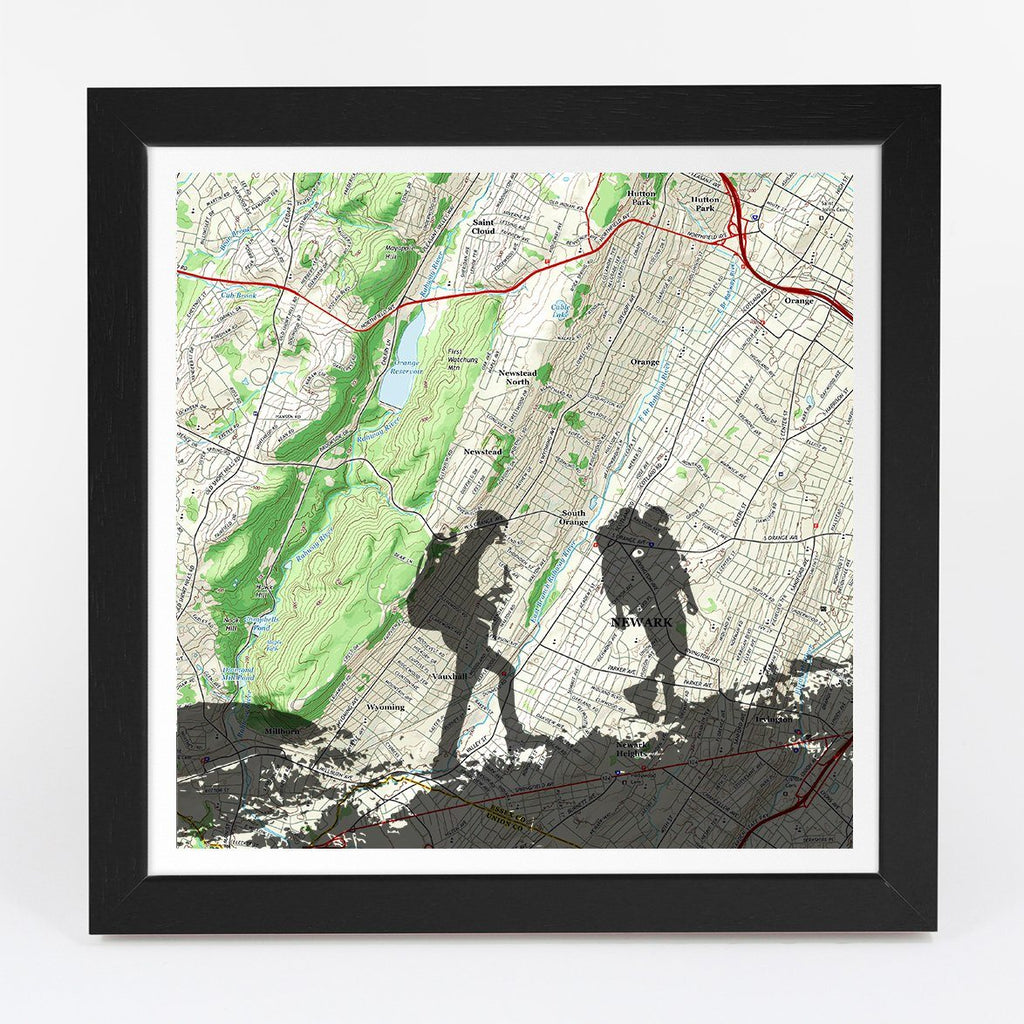 Map Gift - Personalized Hiking Adventure Map