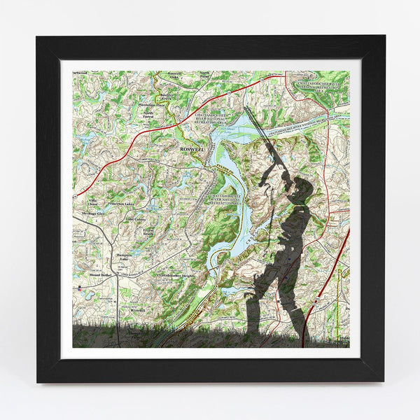 Map Gift - Personalized Shooting Adventure Map