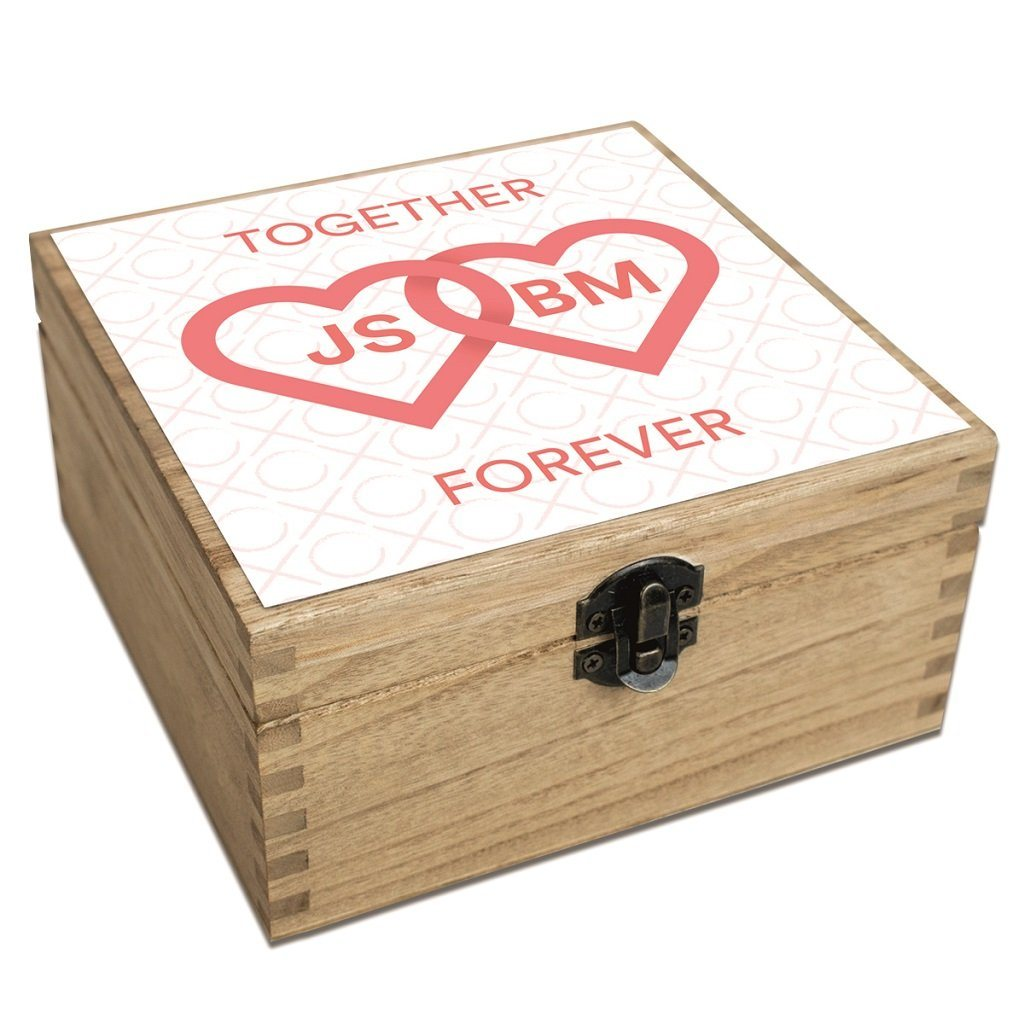 Personalized Valentine S Day Gift Set Together Forever
