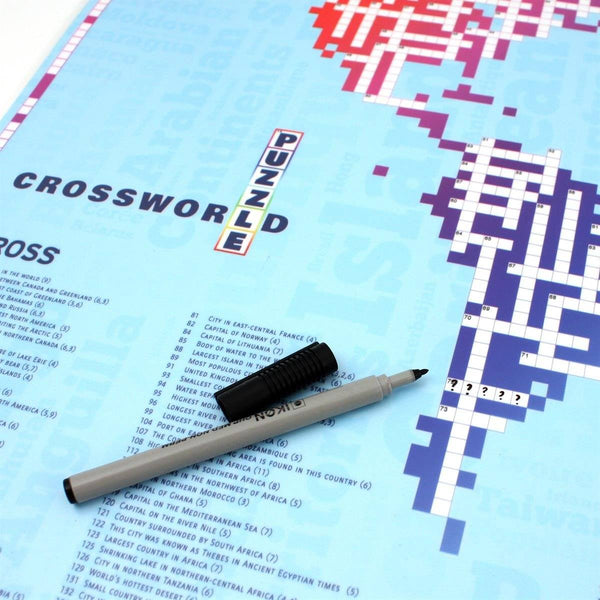 Maps - Crossworld - The World Map Crossword Crossworld - the World Map Crossword