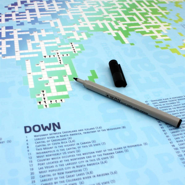 Maps - Crossworld - The World Map Crossword