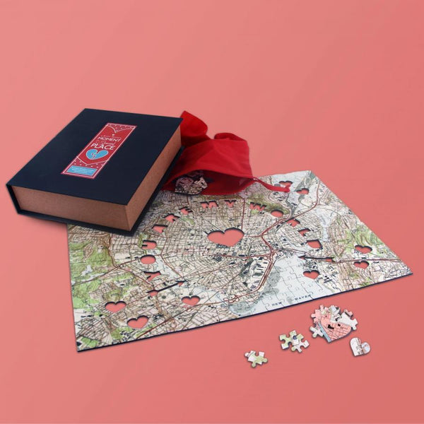 Personalized Fab Jigsaw Puzzles - You Are My World Wooden Puzzle (fab.com Exclusive)