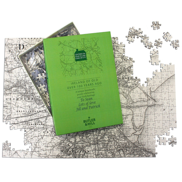 Personalized Jigsaw Puzzles - Ireland Of Old Map Jigsaw Puzzle Ireland of Old Map Jigsaw Puzzle