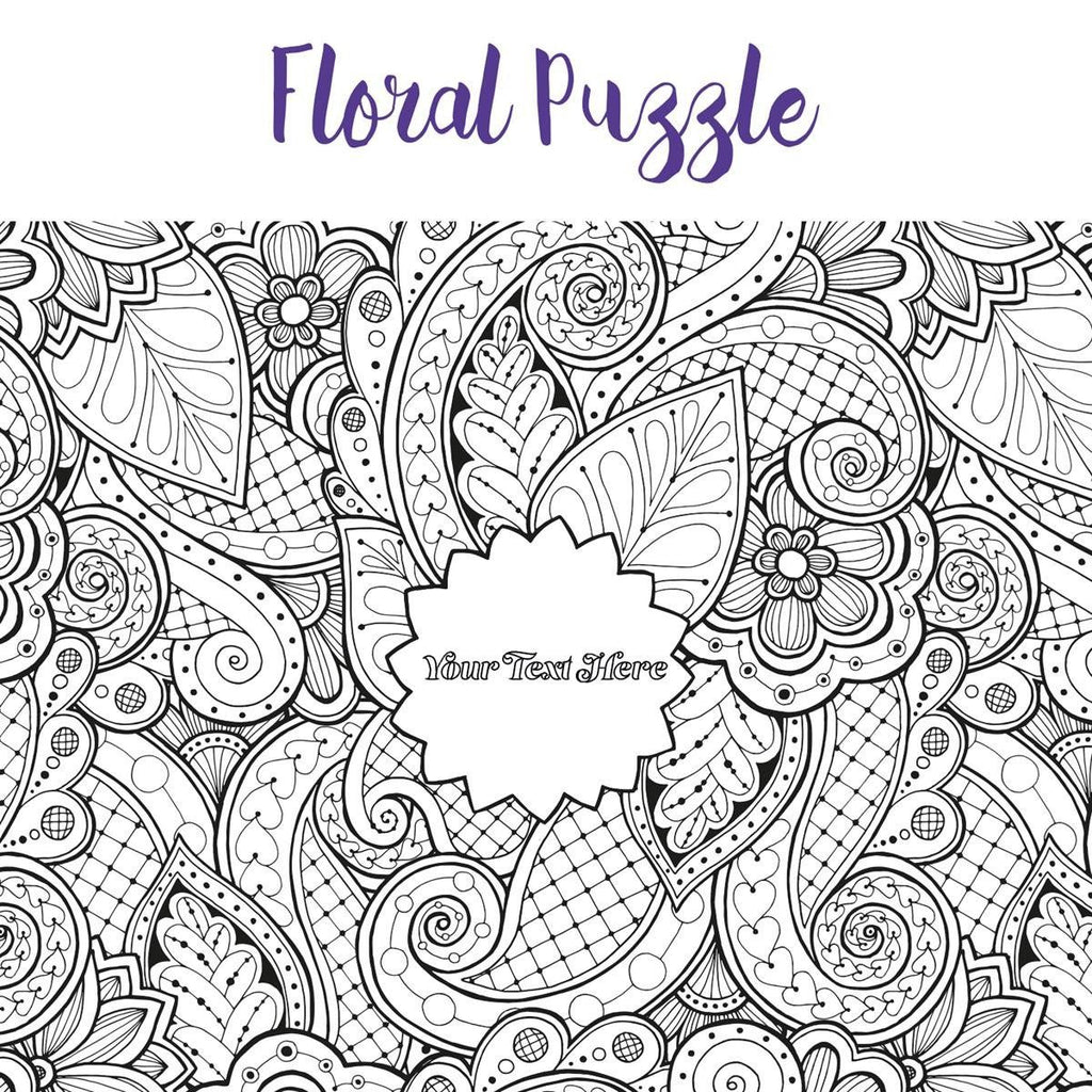 Pieceful Puzzle - Personalized Adult Coloring Wooden Jigsaw