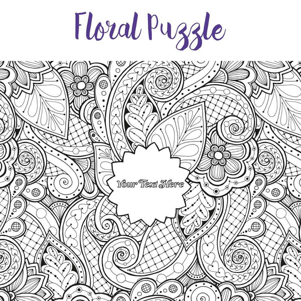 Personalized Jigsaw Puzzles - Pieceful Puzzle - Personalized Adult Coloring Wooden Jigsaw Pieceful Puzzle - Personalized Adult Coloring Wooden Jigsaw