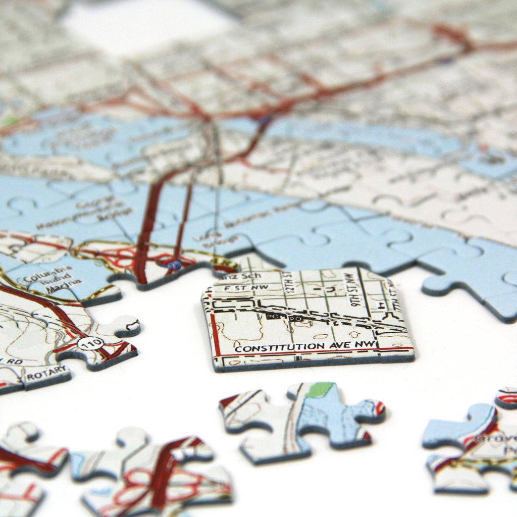 Redeem your Map Jigsaw Puzzle Gift Box here