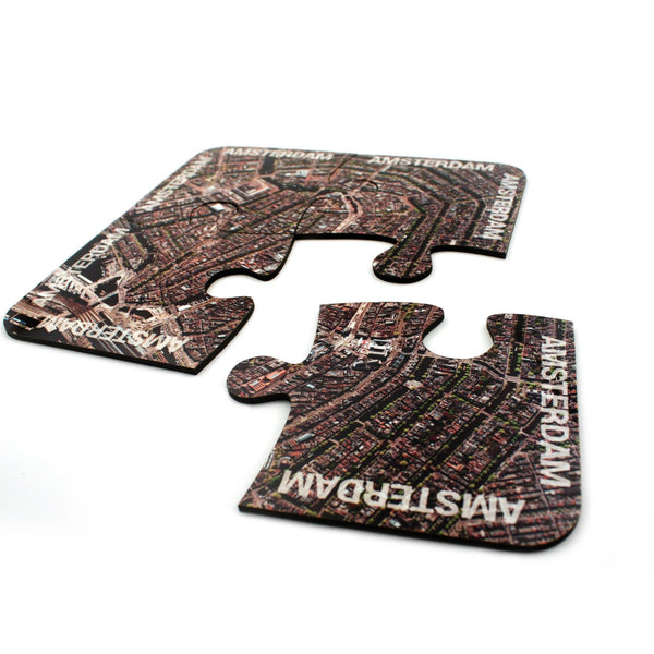 Tableware - Amsterdam Map Coasters And Placemats