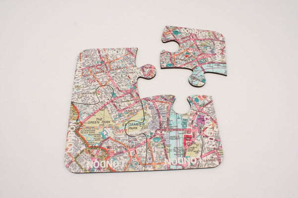 Tableware - London City Map Coasters And Placemats London City Map Coasters and Placemats