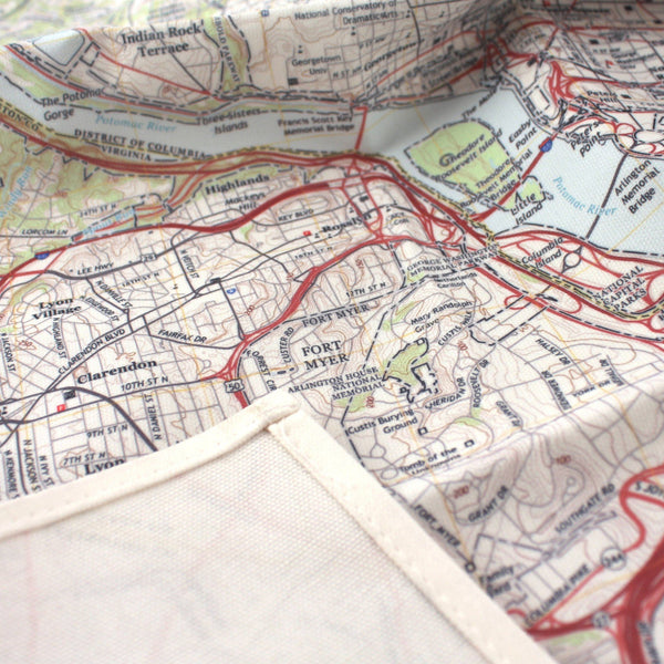 Tableware - Map Kitchen Towel Map Kitchen Towel