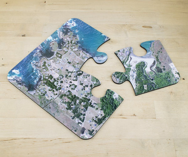 Tableware - National Geographic Aerial Photo Jigsaw Coasters National Geographic Aerial Photo Jigsaw Coasters