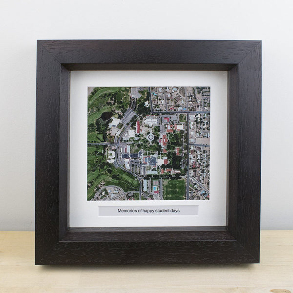 "Wall Art - National Geographic ""My Home"" Personalized Framed Map National Geographic"