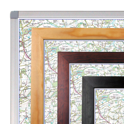Framed Maps