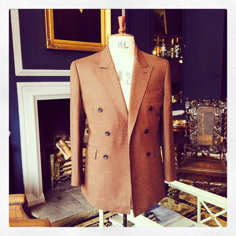 crichton bespoke brown jacket