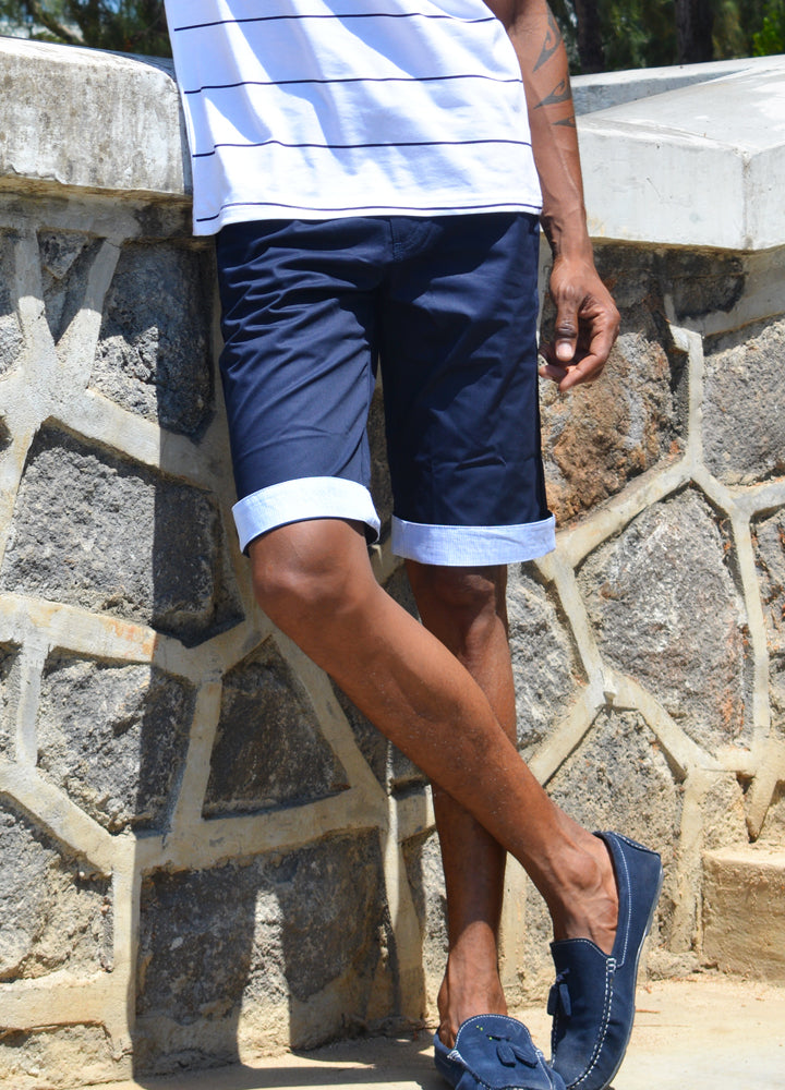 Short Clayton Dark Navy