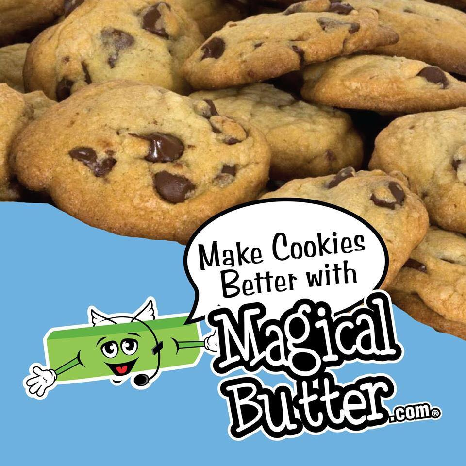 Magical Butter - Chocolate Chip Cookies