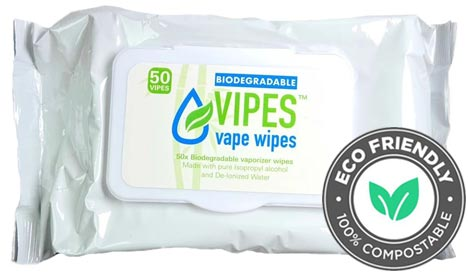 Vipes Herbal Vaporizer ISO Alcohol Wipes NZ