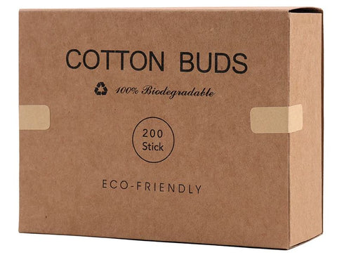ECO Friendly 200x Vape Cleaning Cotton Buds in Box NZ