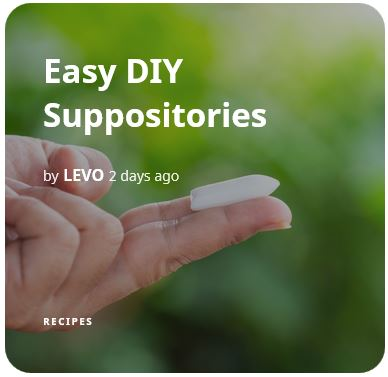 Easy DIY Suppositories