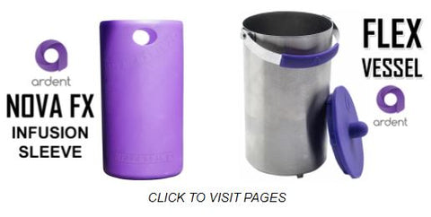 Ardent Infusion Sleeves Silicon & Stainless Steel