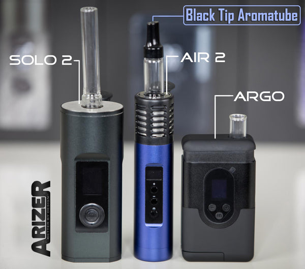 Arizer Aromatube Glass Stem with Fluted Tip NZ