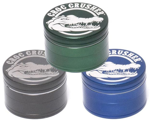 3 Colors of Croc Crusher 4pc Grinders NZ