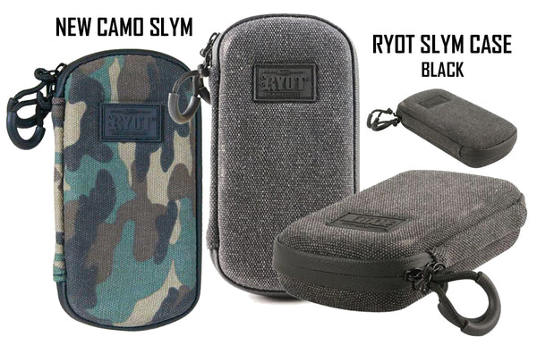 New RYOT SLYM Vaporizer Case Camo and Black NZ