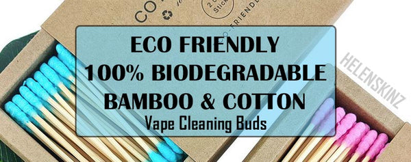 Cotton Buds for Cleaning Herbal Vapes NZ