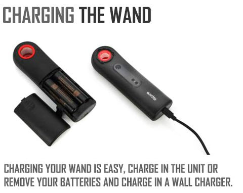 Charging The Wand by ISPIRE NZ