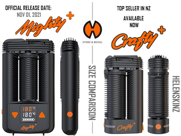 Comparison Crafty+ to Mighty+ Vapes NZ