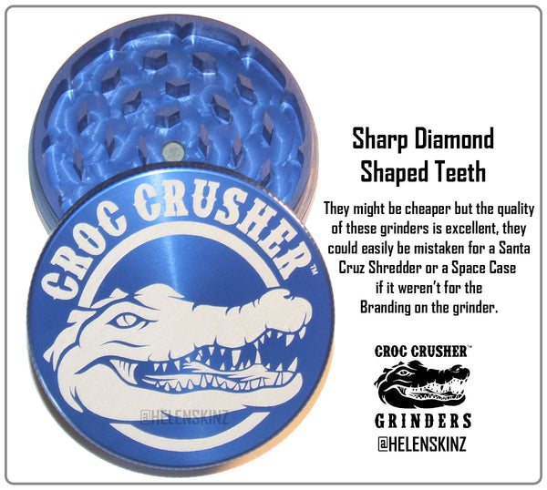 Sharp Teeth on the Croc Crusher 2PC Grinder NZ