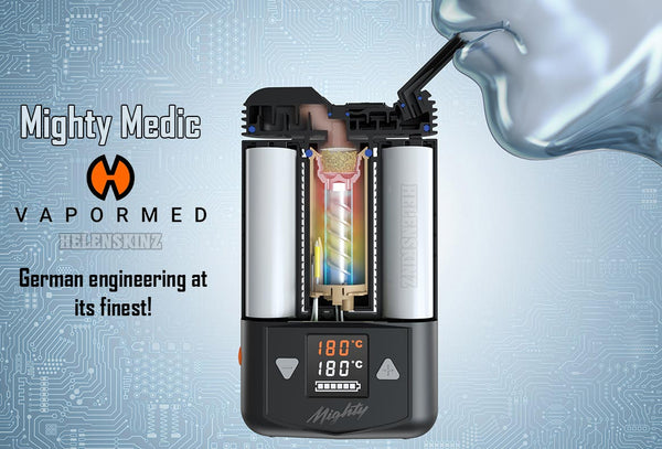 Mighty Medic Medicinal Cannabis Vape by Vapormed Germany - NZ