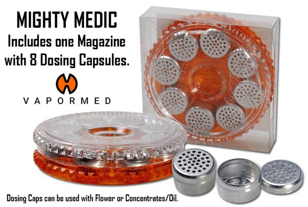 Mighty Medic NZ Includes 8 Dosing Capsules & a Magazine