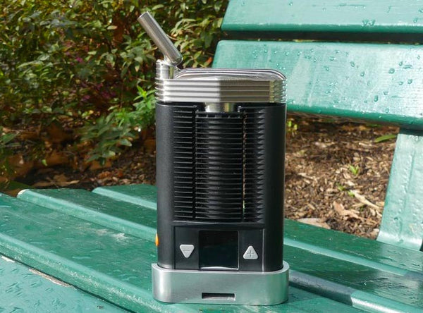 Mighty stainless steel cooling unit on the Vape NZ