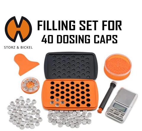 Storz & Bickel Filling Set for 40pc Dosing Capsules
