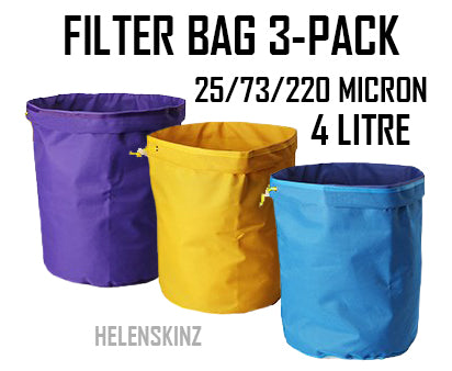 Helenskinz Filter Bag Kits NZ Infusion