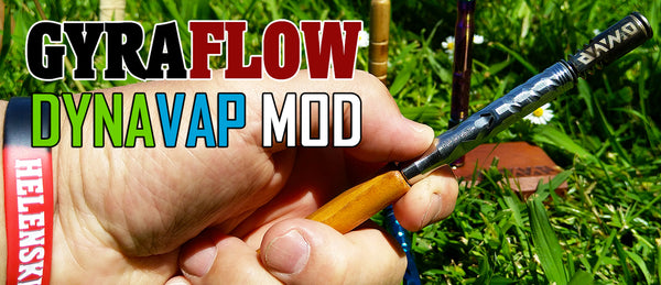 GyraFlow Device for Spinning DynaVap Vaporizer Pen