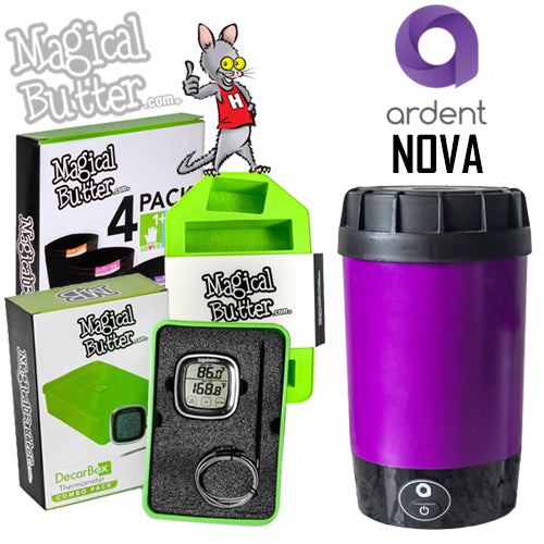 Ardent Nova Decarboxylator & Magical Butter Accessories NZ