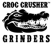 Croc Crusher 2.5 Inch Large 2 Piece Herb Grinder NZ.