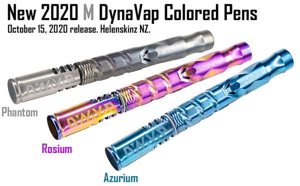New DynaVap 2020 M Colored Vape Pens NZ - Helenskinz