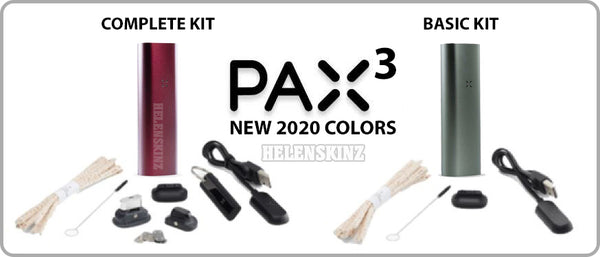 Pax 3 Kit Comparison, Basic and Complete NZ